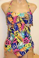 NWT Hobie swimsuit bikini tankini 2pc set Sz M L Top MLT Tunnel Pants