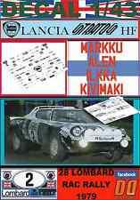 DECAL 1/43 LANCIA STRATOS MARKKU ALEN RAC R. 1979 (07)