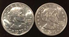 2 - 1979 Susan B Anthony Dollar P Free Shipping