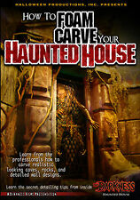 How to Foam Carve Your Haunted House DVD by Halloween Productions, Inc.