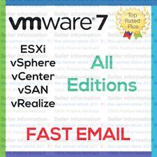 VMware ESXi 7 License Key vSphere vCenter vSAN more Enterprise Plus EMAILED ⚡️