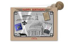 104th Birthday Card Souvenir of 1916 Penny Gift Set (2020)