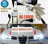 Kit Lampade LED H7 ABBAGLIANTI Alfa Romeo 159 NO Error Tuning Fari 6500K 8000LM