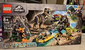 LEGO Jurassic World: T. Rex vs Dino-Mech Battle (75938) Factory Sealed