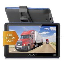 5 '' XGODY Coche GPS Navegador Navegación SAT NAV FM 8GB SpeedCam POI EU Mapas