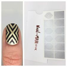 NAIL mail-ART DECO vinili per unghie-Nail Art Stencil & Adesivi