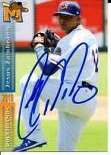 Jesus Zambrano 2019 Midland RockHounds Autographed Signed Card