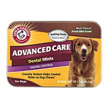 40 MINT Advanced Care Dental Dog Chew Treat for Tartar & Bad Breath Control
