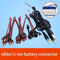 T-Type / Power plug 5.5*2.1mm / 2.1mm Waterproof F 36V 48V eBike Li-ion Battery