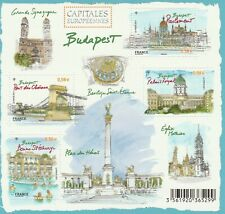 BLOC CAPITALES EUROPÉENNES : BUDAPEST (4 TIMBRES) 2011 NEUF
