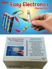 Make: Easy Electronics Kit Components Pack Learn Beginner DIY circuits kids