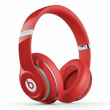 Genuine Apple Beats by Dr. Dre Studio 2.0 Wireless Over-Head Headphone - RED
