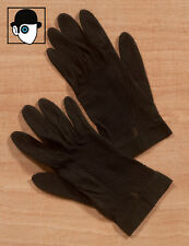 VINTAGE 40s/50s MESH BACKED GLOVES - SIZE 6 1/2 - SMALL - (Q)