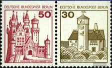 Berlin (West) W61 postfrisch 1977 Burgen und Schlösser