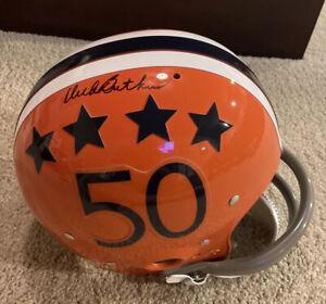 DICK BUTKUS Signed FS Full Size TK Suspension Football Helmet Illinois TriStar
