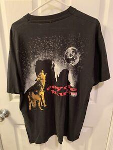 Vtg 90s Marlboro Coyote Bluff Fruit Of The Loom Shirt USA Made Single Stitch XL
