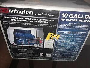 New opened Box Suburban SW10DE RV Water Heater 10 Gallon, DSI, Camper 5243A
