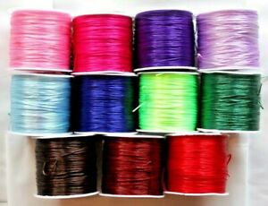 5m Stretchy 0.7mm Coloured Elastic Thread Jelly Cord Jewelry Making DIY Bracelet