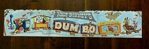 "Original 1941 Walt Disney's Movie ""Dumbo"", Festoon Poster. From 1941 Press Kit."