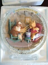 """Winnie The Pooh Plate Bradford Exchange """"Many Happy Returns of the Day"""" #A169Uo"""
