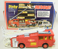 DINKY E.R.F. FIRE TENDER; BRAND NEW MODEL IN A RATHER FATIGUED WINDOW BOX