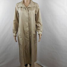 Forecaster of Boston Womens Trench Coat 7/8 Light Weight With Belt Button Front