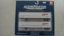 Walthers Ho 53' Stoughton Trailer 2-Pack Ryder #949-2455 New in Package