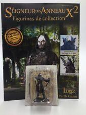 figurine plomb le seigneur des anneaux n2/180 lurtz + fascicule lire descriptif