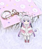 Miss Kobayashi's Dragon Maid Kanna Kamui Acrylique Trousseau Porte-clés