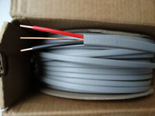 LSF 50m Drum x 6mm Twin/&Earth Cable 6242Y Old Colours Red /& Black White Sheath