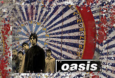 -A3 Size-  Oasis - Music Group Posters | Concert Song Celebrity Print #20