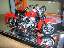 Maisto Harley-Davidson 1958 FLH DUO GLIDE Rojo Rojo Moto, 1:18