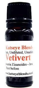 Vetivert Essential Oil x 10ml Therapeutic Grade 100% Pure