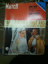 Paris Match n° 1037 22 mars 1969 chine urss grace kelly indépendance algérie