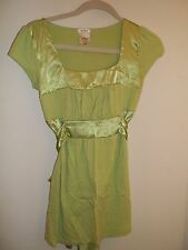 Women's Studio Y Bright Lime(?) Green Shirt, Top, Blouse - Size S (Small)