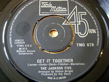 "THE JACKSON 5 - GET IT TOGETHER    7"" VINYL"