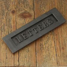 Edwardian Style 'Buchstaben' Eisen Briefeinwurf