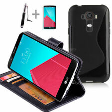 Plain Synthetic Leather Mobile Phone Cases, Covers & Skins for LG G4