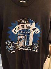 Vintage Palisades Hole In The Wall Gang Black Tshirt L