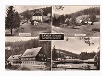 uralte AK Sayda Erzgebirge Mortelgrund Mortelmühle Fischzucht Teiche 1975 //17