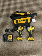 DEWALT XTREME 2-Tool 12-volt Max Brushless Power Tool Combo Kit with Soft Case