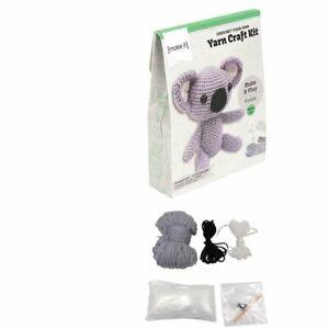 Make It - Crochet Animal DIY - Crochet Your Own Yarn Craft Kit - Llama, Koala...