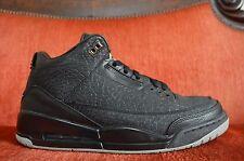 VNDS Nike Air Jordan III 3 Retro FLIP CEMENT BLACK WHITE 315767-001 Size 10.5