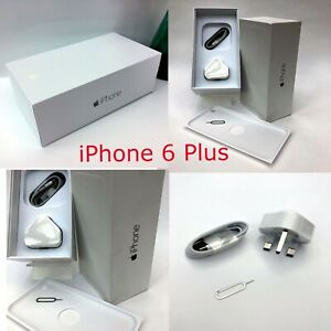 Apple iPhone 6 Plus box only and Accessories ALL MEMORY SIZES AND COLOURS