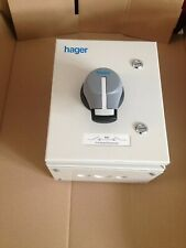 HAGER METAL SWITCH DISCONNECTOR 63A TPN 63A TP &N ,JAB306