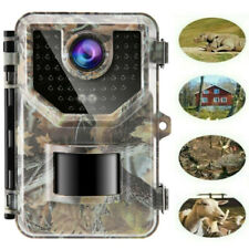 Hunting Camera IP66 16MP Animal Wildlife No-Glow Night Vision Farmer Cam