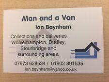 Man and Van. Wolverhampton, Dudley,Stourbridge,West Midlands