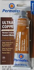Permatex Ultra Copper Sensor Safe High-Temp RTV Silicone Gasket Maker 3 oz 81878