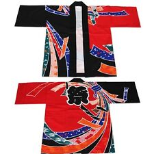 NEW Japanese Traditional Festival Coat HAPPI Yukata Kimono Roomwear JAPAN F/S