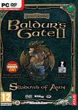 Forgotten Realms Baldur's Gate II Shadows of Amn - PC DVD - New & Sealed